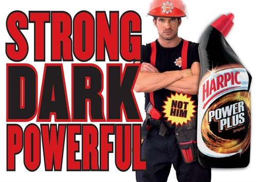 Power Plus Fireman Ad Campaign | Harpic UK