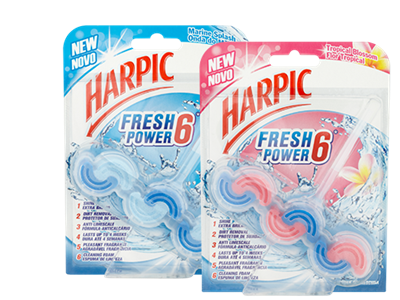 Welcome to Harpic, the home of expert cleaning power